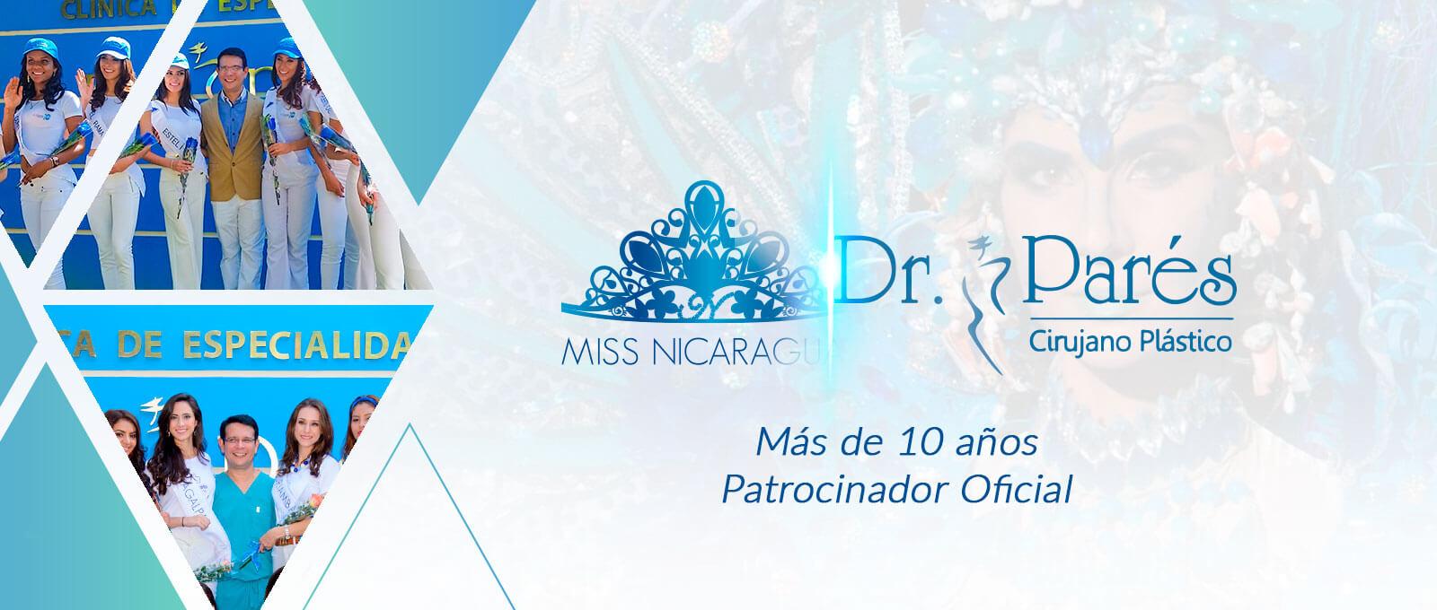 Banner Miss Nicaragua 2019