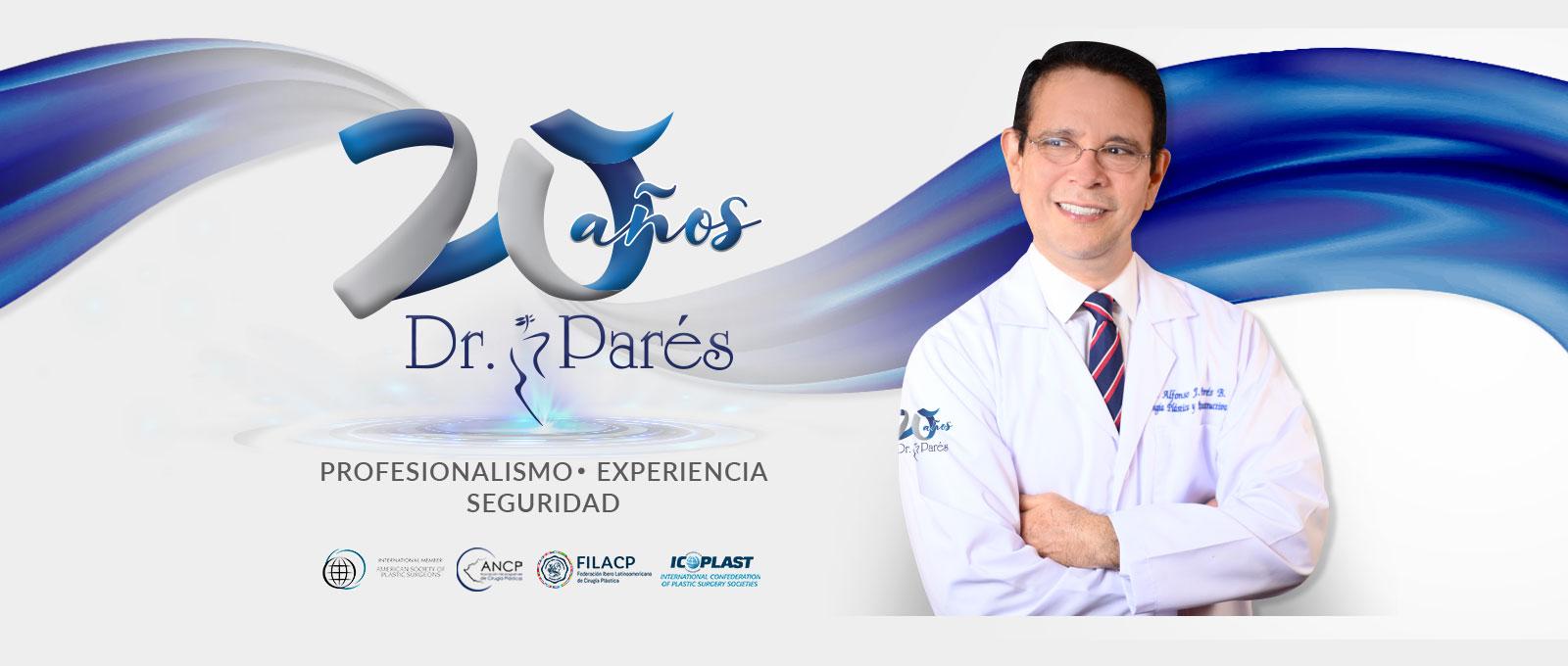 20 años Dr. Parés